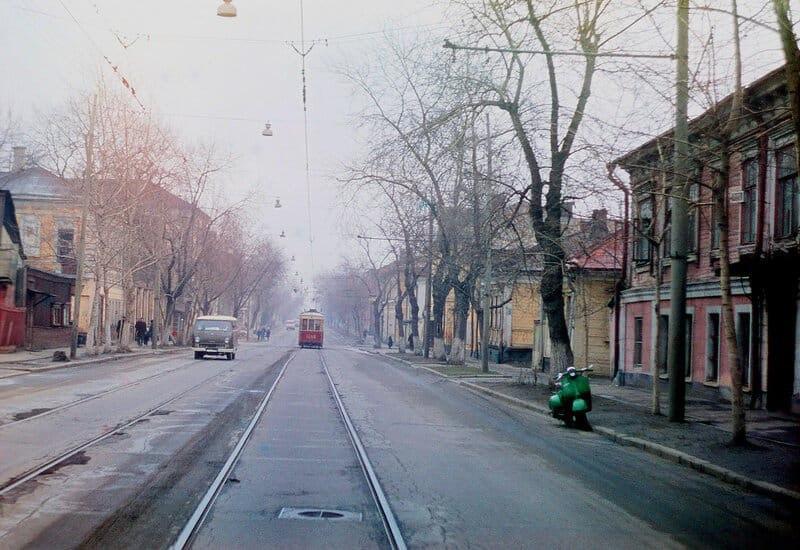 Старая Марксистская улица в Москве